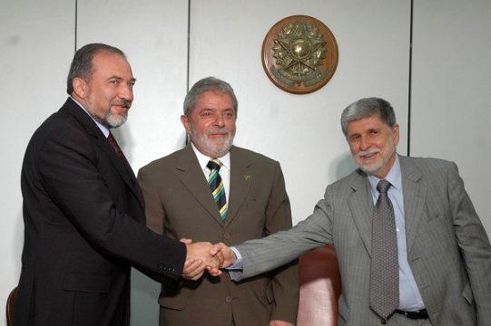 אביגדור ליברמן בברזיל